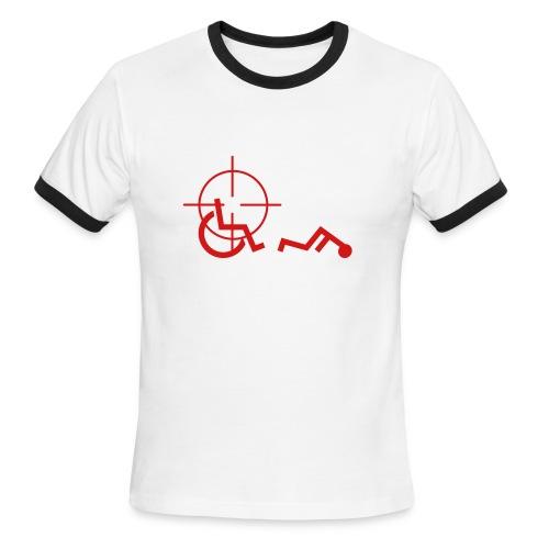 020 Snipe The Handicapped - Men's Ringer T-Shirt