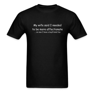 Wife/Boyfriend T-shirt - Men's T-Shirt