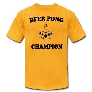 Beer Pong champ - Men's Fine Jersey T-Shirt