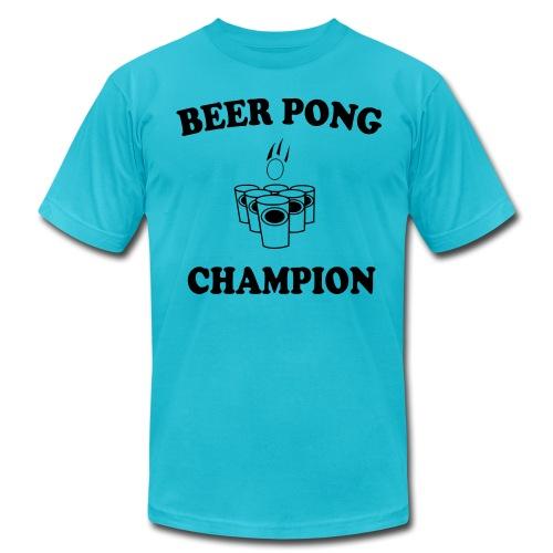 Beer Pong champ - Men's Fine Jersey T-Shirt