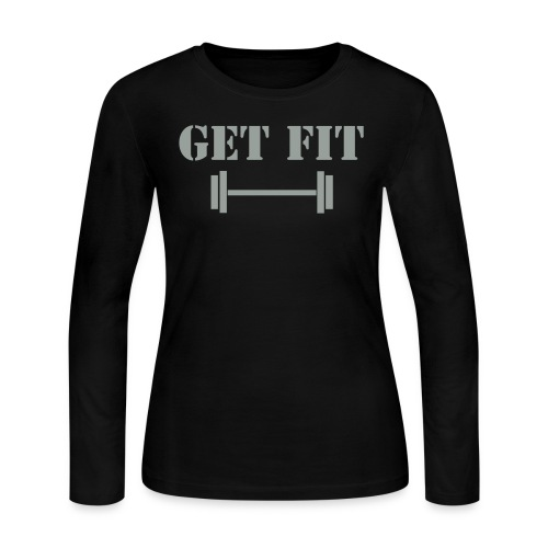 Ladies Get Fit PT L/S  - Women's Long Sleeve Jersey T-Shirt