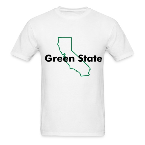 T-shirt California Green State - Men's T-Shirt
