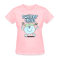 T-Shirts ~ Women's T-Shirt ~ TWITTER THIS!  T-Shirt