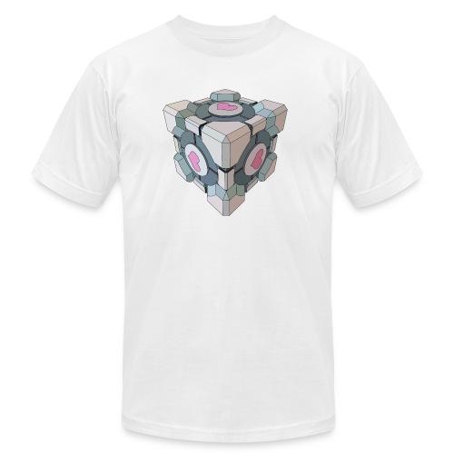 Companion Cube - Men's Fine Jersey T-Shirt