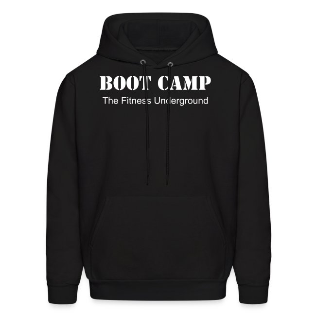 Men's Boot Camp Hooded Sweatshirt