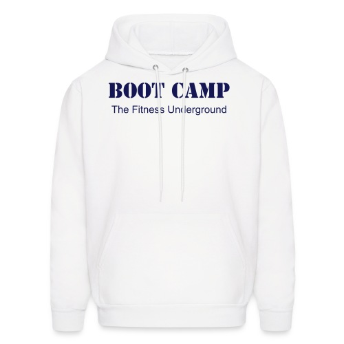 Men's Boot Camp  Hooded Sweatshirt - Men's Hoodie
