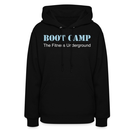 Ladies Boot Camp Hooded Sweatshirt - Women's Hoodie