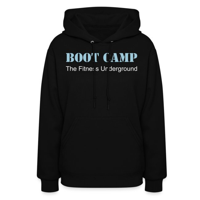 Ladies Boot Camp Hooded Sweatshirt