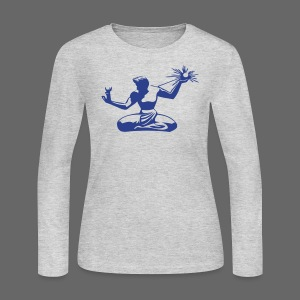 Spirit of Detroit Women's Long Sleeve Jersey Tee - Women's Long Sleeve Jersey T-Shirt
