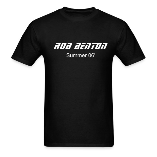 Standard Black Tee - Men's T-Shirt