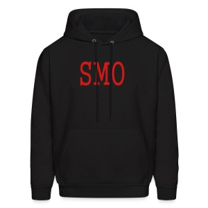 MEN`S HOODED SWEATSHIRT - SMO by MYBLOGSHIRT.COM - Men's Hoodie