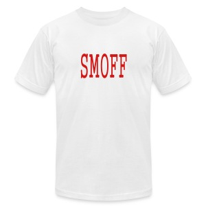 MEN`S AA T-SHIRT - SMOFF by MYBLOGSHIRT.COM - Men's T-Shirt by American Apparel