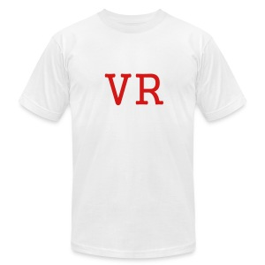 MEN`S AA T-SHIRT - VR by MYBLOGSHIRT.COM - Men's T-Shirt by American Apparel