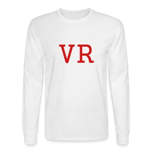 MEN`S LONG SLEEVE T-SHIRT - VR by MYBLOGSHIRT.COM - Men's Long Sleeve T-Shirt
