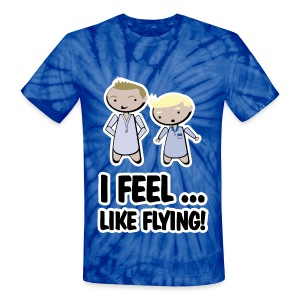 barney stinson how i met i feel like flying - Unisex Tie Dye T-Shirt