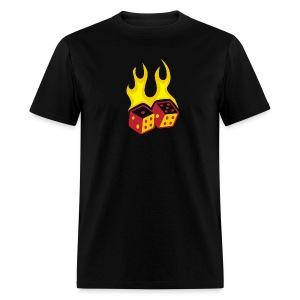 Fire & Dice - Men's T-Shirt