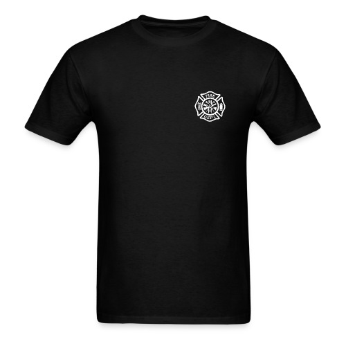 Firefighter 3 Logo T-Shirt - Men's T-Shirt