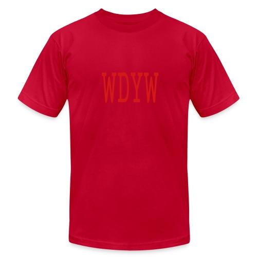 MEN`S AA T-SHIRT - WDYW by MYBLOGSHIRT.COM - Men's Fine Jersey T-Shirt