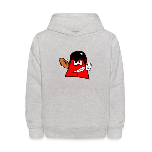 I love football Kids Hooded Sweatshirt - Kids' Hoodie