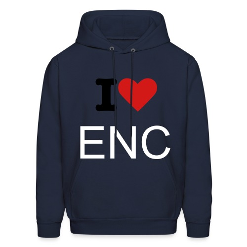 I Love Eastern Nazarene College - Men's Hoodie