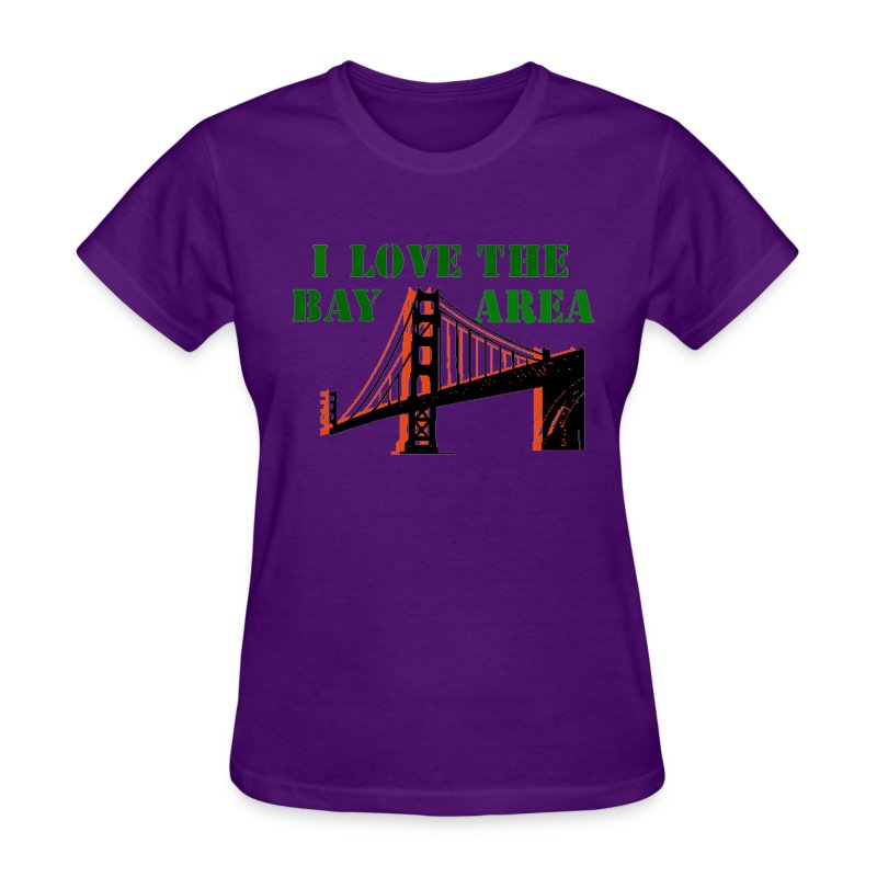 Bay area t shirt spreadshirt for South bay t shirts