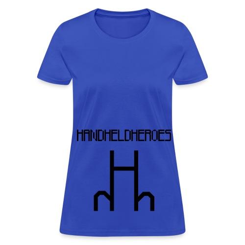 Hard as Fuck Black Text Women's Standard Weight T - Women's T-Shirt