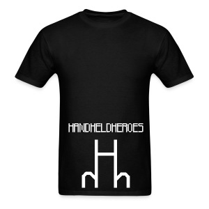 Hard as Fuck White Text Men's Standard Weight T - Men's T-Shirt