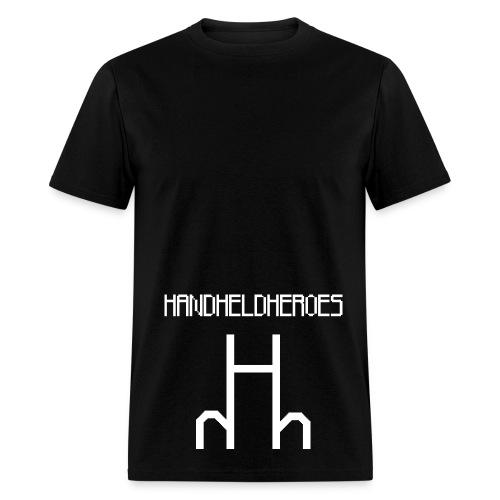 Hard as Fuck White Text Men's Standard Weight T - Men's T-Shirt