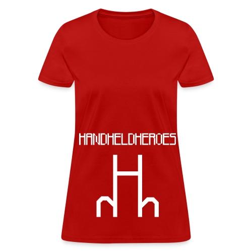 Hard as Fuck White Text Women's Standard Weight T - Women's T-Shirt