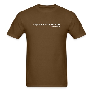 Not a Hairstyle White Text Men's Standard Weight - Men's T-Shirt