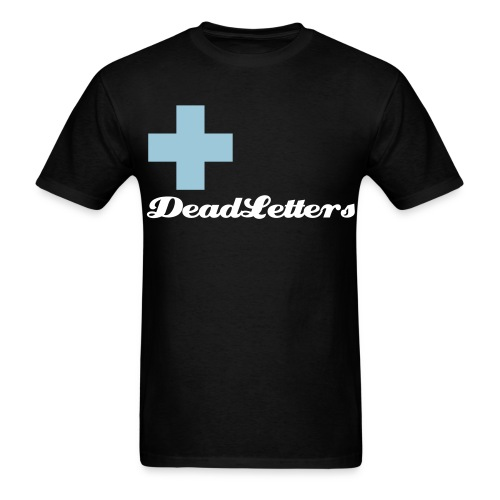 Blue Cross Shirt - Men's T-Shirt