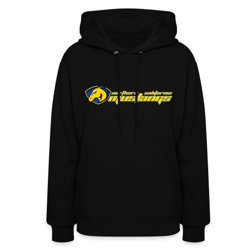 Hooded Black Sweat Shirt - Women's Hoodie
