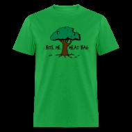 T-Shirts ~ Men's T-Shirt ~ Bite Me, Meat Bag