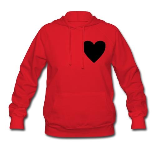 Red heart  - Women's Hoodie