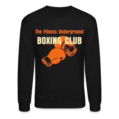 Men's Old School Boxing Club Crew Neck Sweat Shirt - Crewneck Sweatshirt