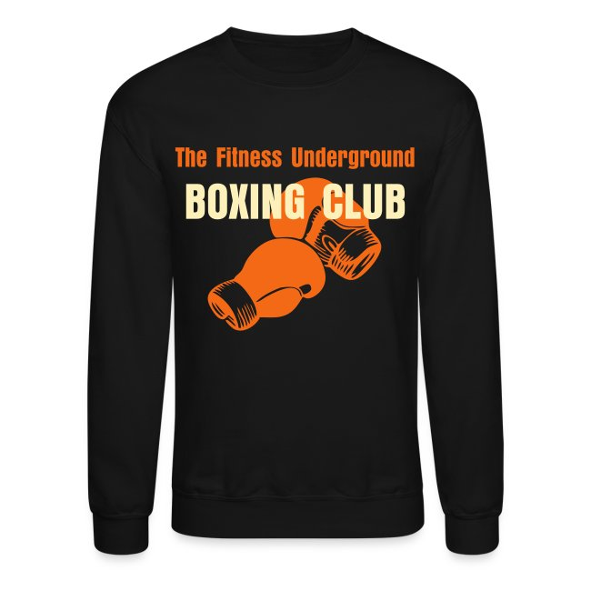 Men's Old School Boxing Club Crew Neck Sweat Shirt