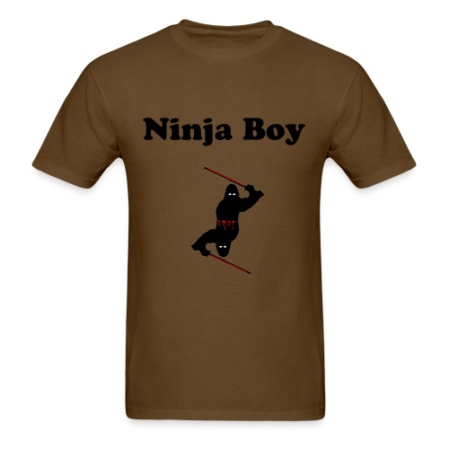 Ninja Boy - Men's T-Shirt