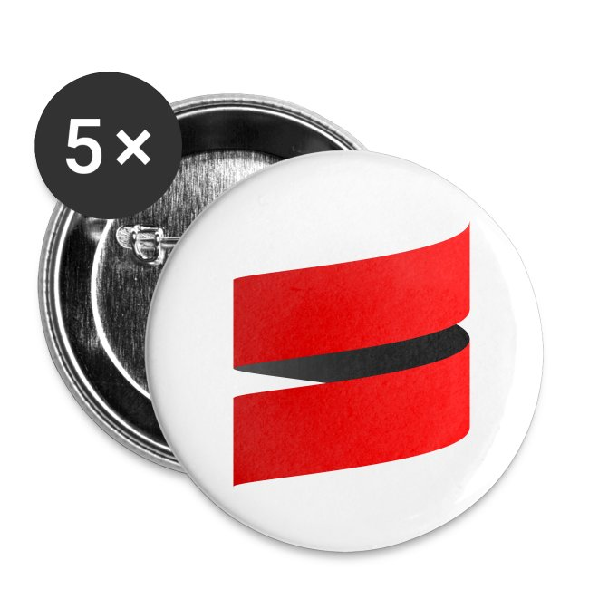 "1"" Button with Scala Icon"