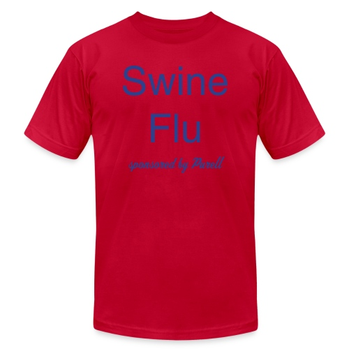 Swine Flu AA Men - Men's Fine Jersey T-Shirt