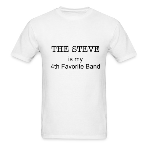 4th Fav White - Men's T-Shirt