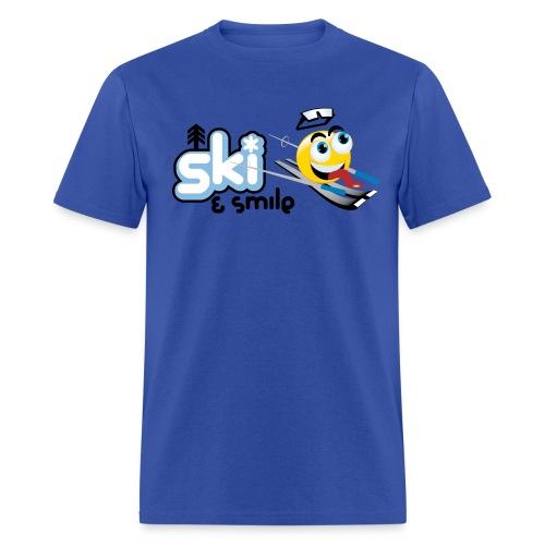 Men's Ski And Smile T - Men's T-Shirt