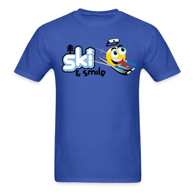 Men's Ski And Smile T