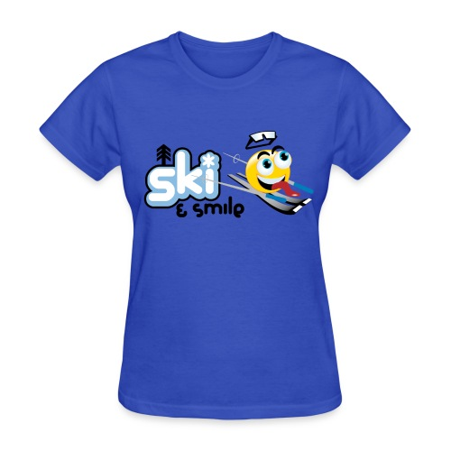 Women's Ski And Smile T - Women's T-Shirt