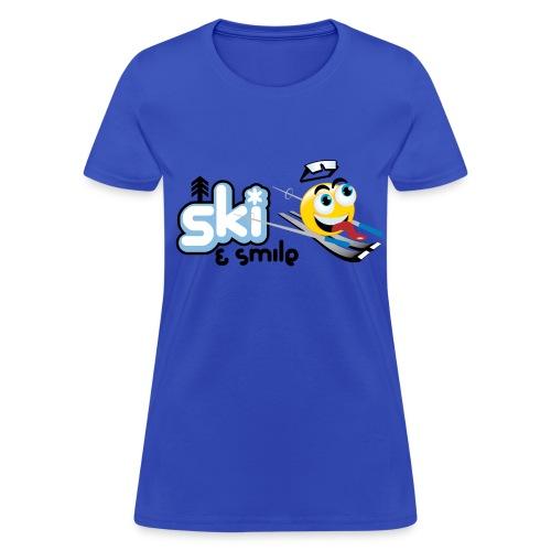 Women's Ski And Smile T - Women's T-Shirt