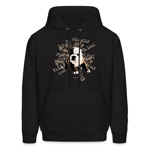 Men's Hoodie - Hooded Sweatshirt Dog-3 Available Medium