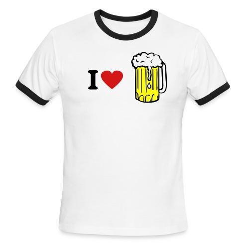 Beer Ringer - Men's Ringer T-Shirt
