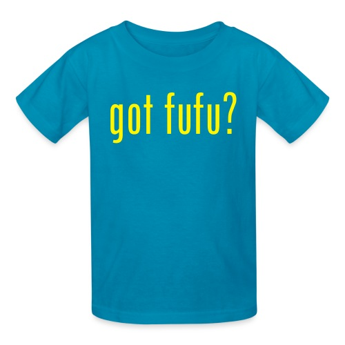 got fufu - Girls's Tee - Green / Yellow - Kids' T-Shirt