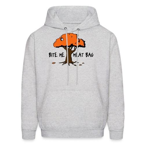 Bite Me Meatbag hoodie - Men's Hoodie