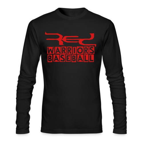 Black Red Warriors Special Design Long Sleeve Tee - Men's Long Sleeve T-Shirt by Next Level