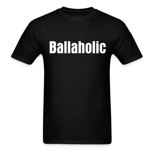 Mens White Ballahollic - Men's T-Shirt